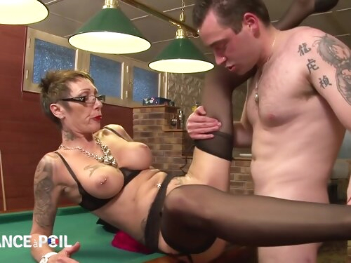 Slutty Old Whore With Piercings Make Love