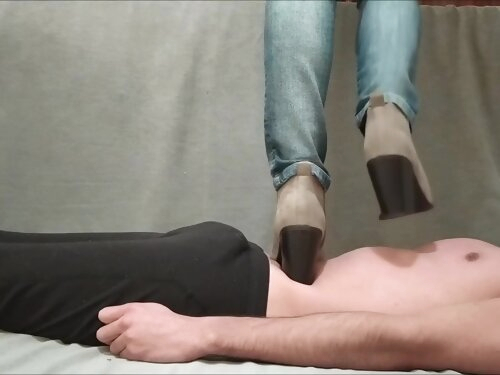 Trample - I Love Stepping On My Carpet With My Boots And He Loves To Be My Carpet