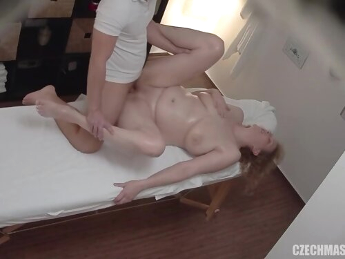 Chubby Milf Comes For Erotic Massage