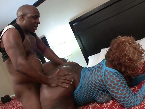 This Sexy Black Bbw Is Getting Hard Dicked