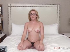 Molten Very first Tart's On Camera For Mommy Abbey James As She Gets Screwed Fine And Packed With Spunk