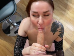 Facial cumshot and Hotel Hook-up with Redhead wifey KleoModel Utter
