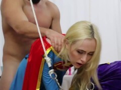 """Candy White & Viva Athena """"Supergirl Solo"""" 3 of 3 Restraints Cuntfucking Cockblowing Pussylicking Jizz"""