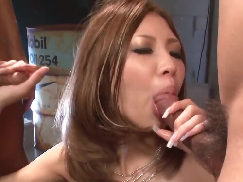 Miku Kohinata In Wiggles Cocks In Her Lil' Fuckholes Like - More At