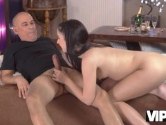 VIP4K Old guy adores beaver of tongues Girlfriend before they have dicks affair