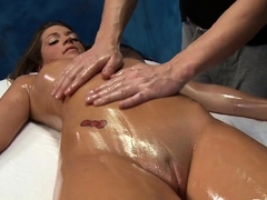 Dazzling very first timer Jenna Leigh ejaculates on camera