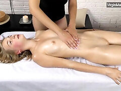 Super-fucking-hot russian tummy Lizka with petite hooters touched
