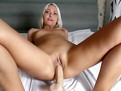 Web cam session Faux-cock nail and spunk Helena Moeller