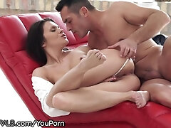 Inborn Russian Honey Packed with Passion for Assfuck Foray
