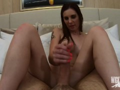 Lilian Stone Gets a Post-Workout Hookup Exercise