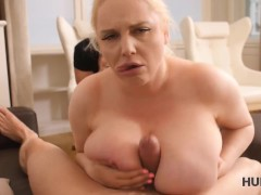HUNT4K Fellow hooks up with busty blonde and fucks her near gals BF