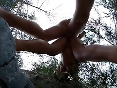 Lovemaking In The Rocks - Others Around