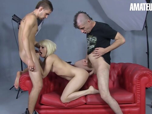 Nora Barcelona Sexy Spanish Milf Gets Fucked Hard By Two Horny Guys - Amateureuro
