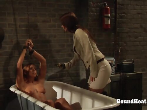 The Education Of Adela: Submissive Lesbian Slave Obeys To Mistresss Orders