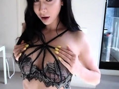 Inexperienced Facial cumshot For Teenager Black-haired